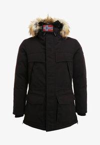 Napapijri - SKIDOO OPEN LONG - Zimní kabát - black - 6