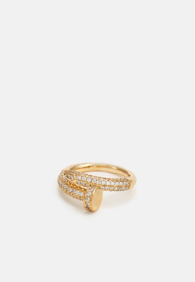 NALPAS - Ring - clear/gold-coloured
