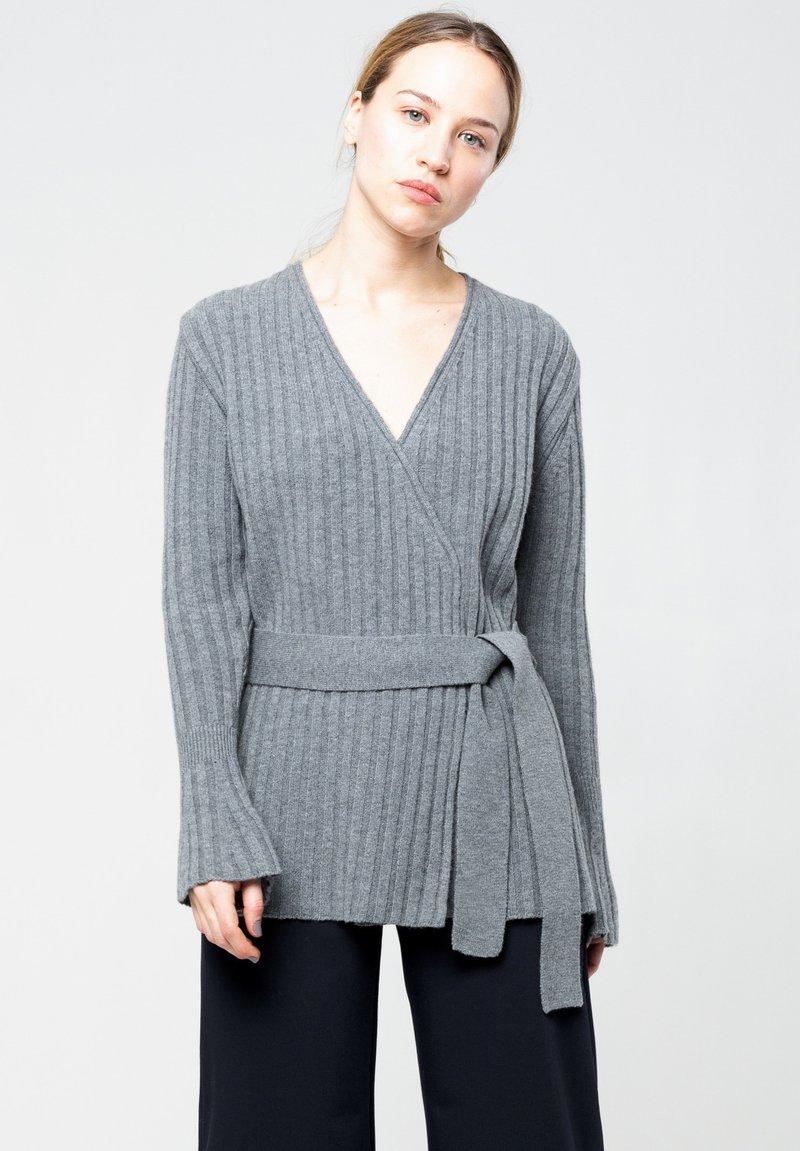 jeeij - Cardigan - grey