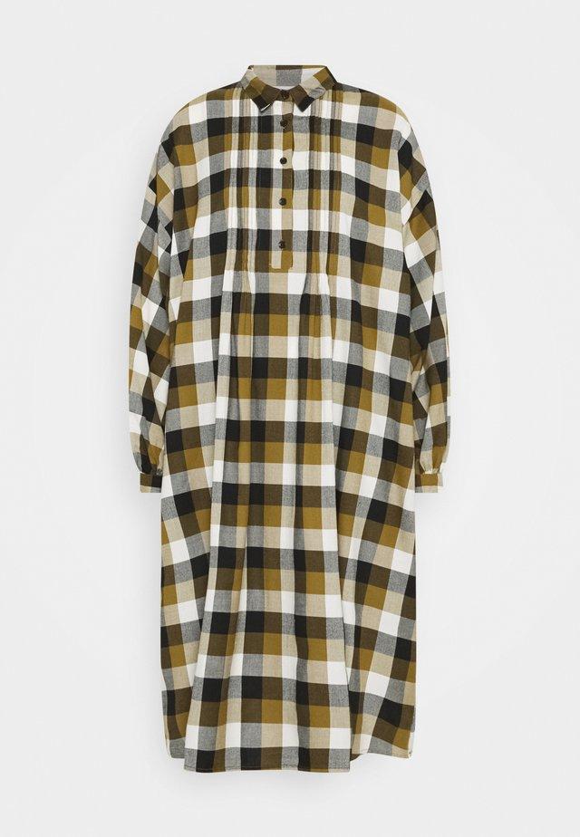 NICKY - Vestido camisero - olive