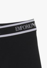 Emporio Armani - PARIGAMBA 2 PACK - Pants - bianco/nero/white/black - 4