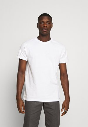 BASIC FITTED - T-shirt con stampa - white