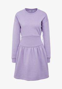 Opening Ceremony - MINI RIB DRESS - Day dress - purple - 6