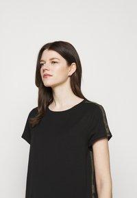 Barbour International - GRID DRESS - Sukienka z dżerseju - black - 3