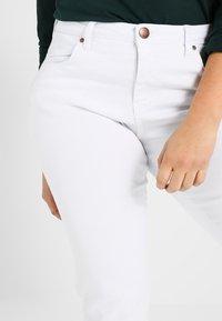 Zizzi - EMILY - Slim fit jeans - bright white - 3