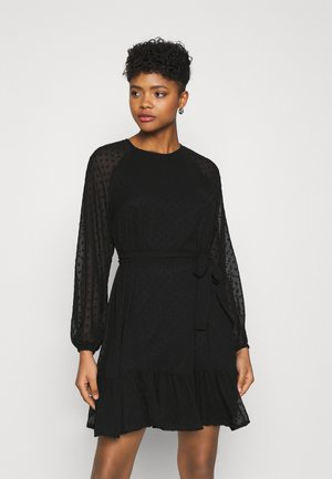 VMTHEA SHORT DRESS - Day dress - black
