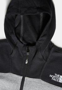 The North Face - B SLACKER 1/4 ZIP - Hoodie - tnf light grey heather - 4