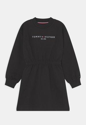 ESSENTIAL DRESS - Jersey dress - black