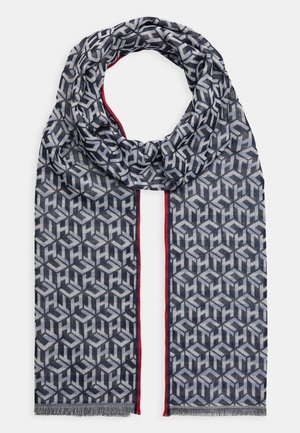 MONOGRAM LIGHT SCARF - Šála - blue