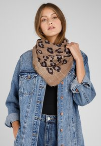 Fraas - Foulard - taupe - 0