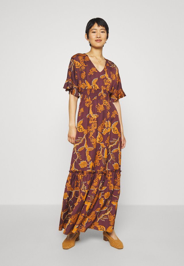 MALIKA AFRICA DRESS - Robe longue - purple