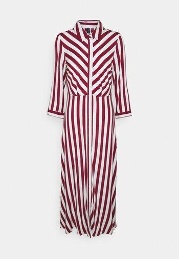 YASSAVANNA LONG SHIRT DRESS - Maksimekko - tibetan red
