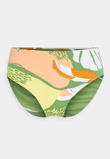 WILDFLOWERS FULL BOTTOM - Bikini bottoms - turf green undertone