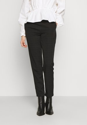 VMIMALUMAYA ANKLE PANT TALL - Trousers - black/snow white