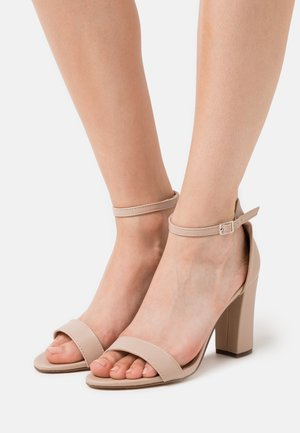 BEELLA - High heeled sandals - blush