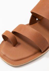 TOMS - FREYA - T-bar sandals - tan - 2