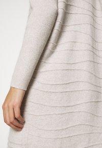 Esqualo - DRESS LINES - Jumper dress - beige - 5