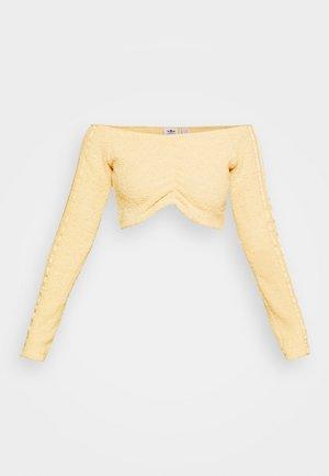 CROP ORIGINALS - Long sleeved top - hazbei