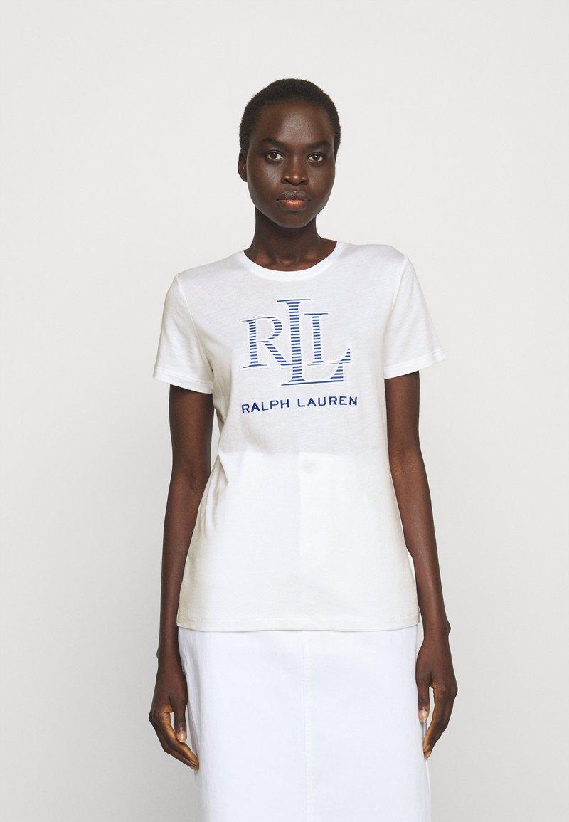 Lauren Ralph Lauren - T-shirt z nadrukiem - white