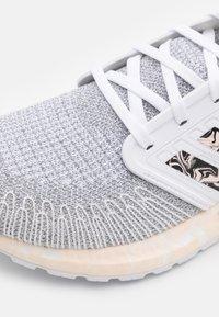 adidas Performance - ULTRABOOST 20 PRIMEKNIT RUNNING SHOES - Scarpe running neutre - footwear white/pink tint/core black - 5