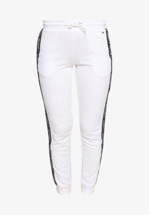 AUTHENTIC TRACK PANT  - Pyjama bottoms - classic white