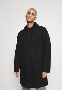 Denim Project - COAT - Klasický kabát - black - 0