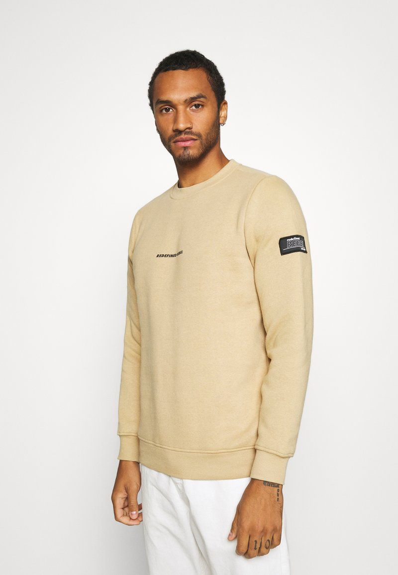 Redefined Rebel - BRUCE - Sweatshirt - travertine