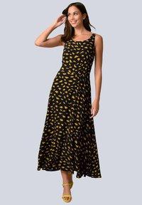 Alba Moda - Maxi dress - schwarz gelb - 1