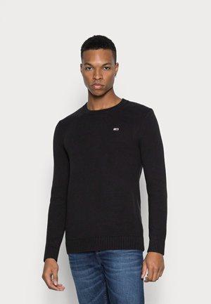 ESSENTIAL - Stickad tröja - black