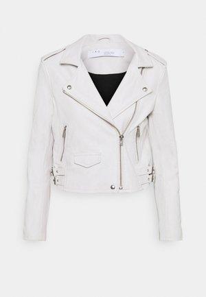 ASHVILLE JACKET - Kožená bunda - white