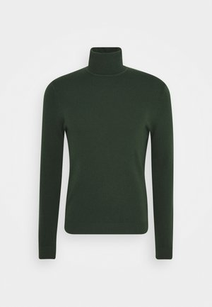 BASIC ROLL NECK - Maglione - dark green
