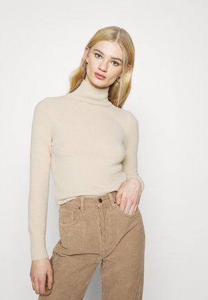FLUFFY - Jumper - beige