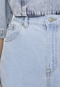PULL&BEAR - Jeansy Straight Leg - light blue - 4