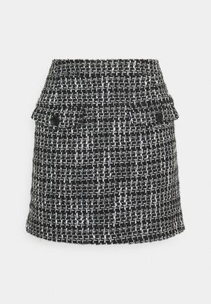 ESTALINE  - Mini skirt - black