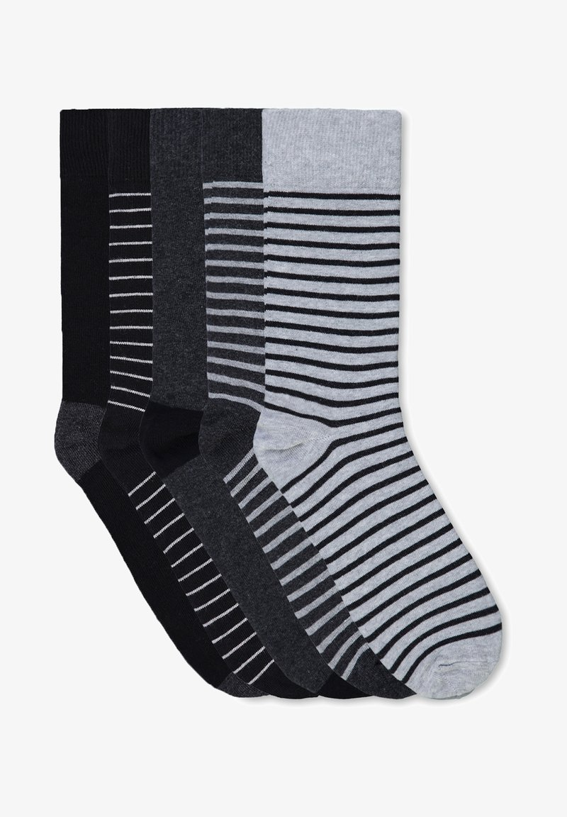 WE Fashion - 5 PACK - Socks - grey