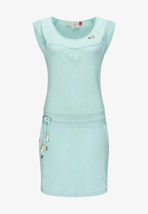 Day dress - blaugrau