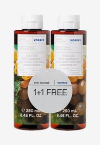 Korres - SANTORINI VINE 1+1 SHOWER GEL SET - Bath and body set - - - 0