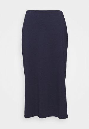 Spódnica ołówkowa  - dark steel blue