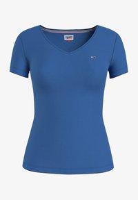 Tommy Jeans - Basic T-shirt - gulf coast blue - 0