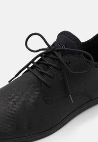 ALDO - REID - Casual lace-ups - open black - 5