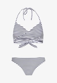 ONLY - ONLJULIE BRAZILIAN SET - Bikini - peacoat/blue/bright white - 5