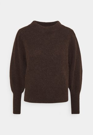 SLFLINNA O-NECK - Jumper - coffee bean/melange