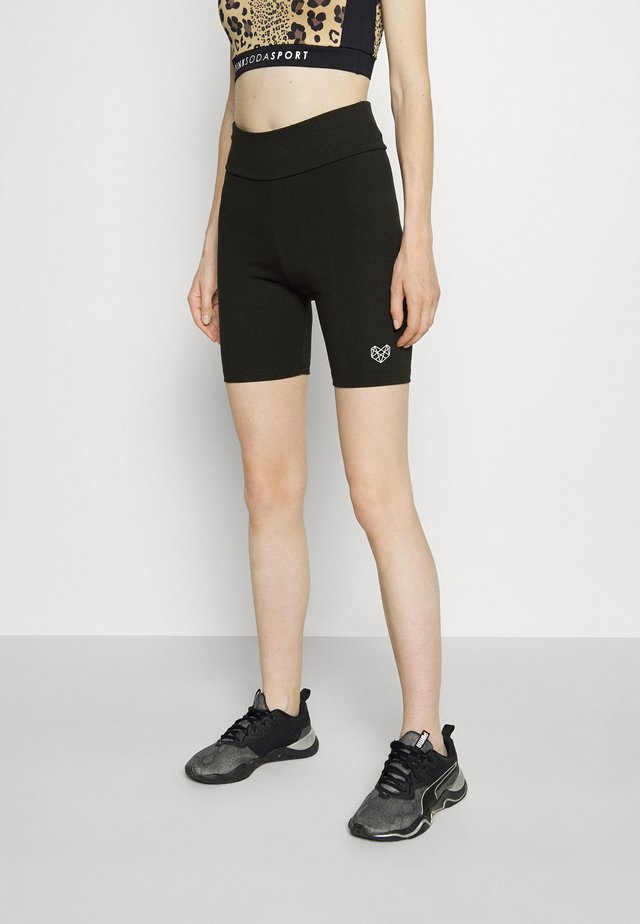 VISTA CYCLING SHORT - Leggings - black