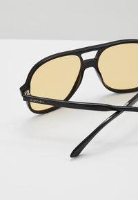 Gucci - Solbriller - black/yellow - 2