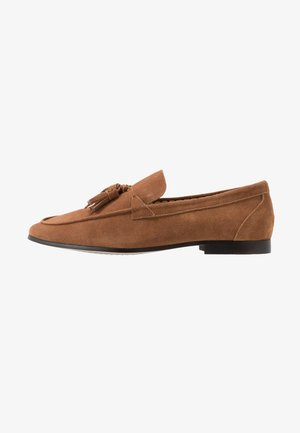 CASUAL TASSLE LOAFER - Smart slip-ons - tan