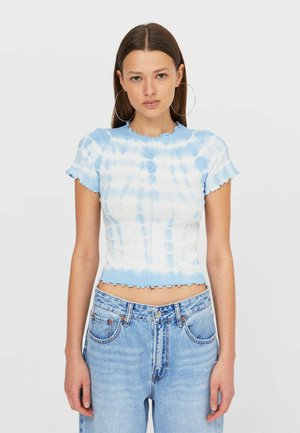 T-shirt z nadrukiem - light blue