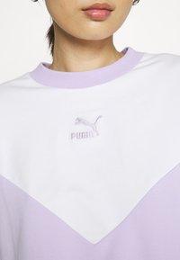 Puma - ICONIC CROPPED CREW - Sweater - light lavender - 4