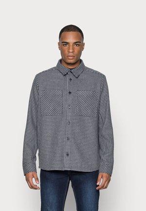 TODD SMALL CHECK - Shirt - insignia blue