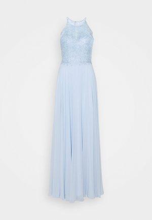 Společenské šaty - eisblau