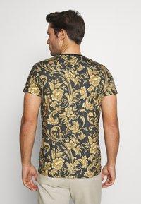 INDICODE JEANS - TOLEDO - Print T-shirt - black - 2